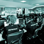 Mercedes AMG Petronas Team headquarters in Brackley UK